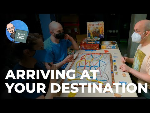 Ticket to Ride Game 1—Part 2 |