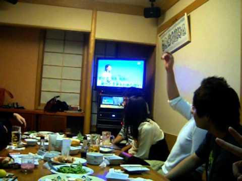 Karaoke with Judo team