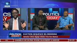 Senator Omo-Agege Under Fire For Stance Pt.2  Politics Today 