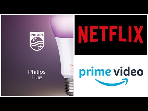 HOW TO SYNC PHILIPS HUE ENTERTAINMENT WITH NETFLIX AND