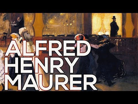Alfred Henry Maurer: A collection of 248 works (HD)