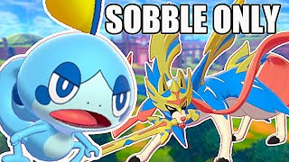Can You Beat Pokemon Sword ONLY Using Sobble