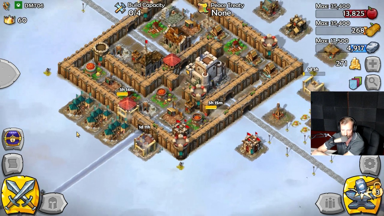 KEEP AGE 5 Level up in Age of Empires: CASTLE SIEGE