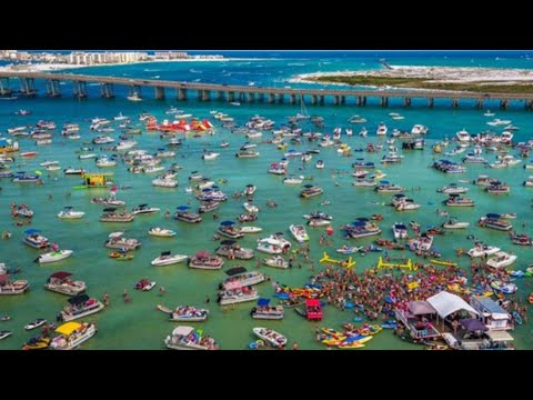 Crab Island, Destin Florida BEST PLACE ON EARTH   SPENT A DAY ON CRAB ISLAND IN DESTIN FLORIDA