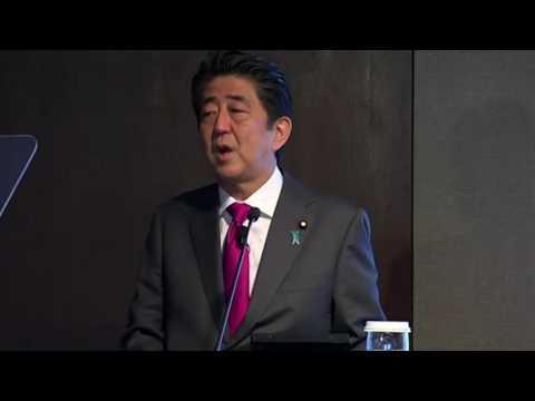 Abe: Japan's shrinking population not burden but incentive