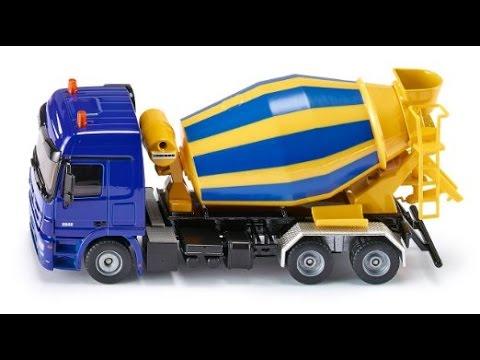 jouet camion de m langeur de ciment camions pour les enfants youtube
