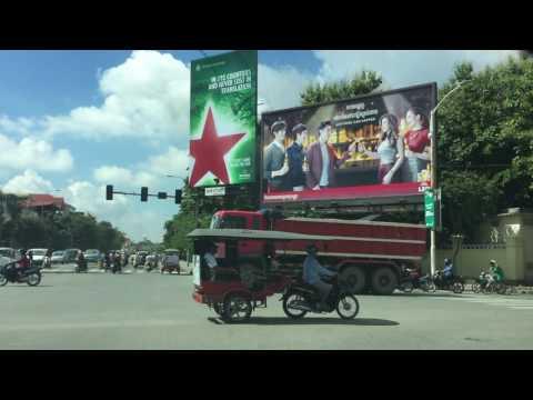 Asia Travel, Phnom Penh City on Monday Afternoon