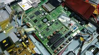samsung le32m87 emas kiritilgan (ta'mirlash keyin ta'mirlash) va capacitor keyin