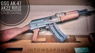 GSG AK-47 .22LR Rifle (AK-22):  Unboxing and Overview