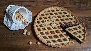 Ricetta Nutella Uccia3000.Crostata Alla Nutella Morbida Fatta In Casa Ricetta Perfetta Youtube