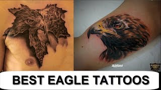 The Best 25 Eagle Tattoos in 2017 Tattoos For Men