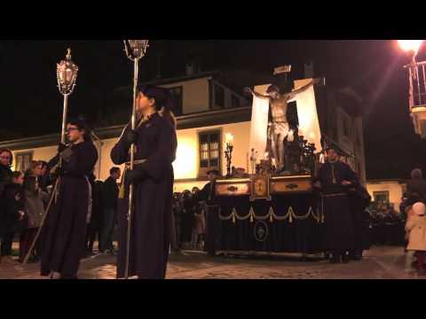 Procesion del Calvario en Villaviciosa Asturias
