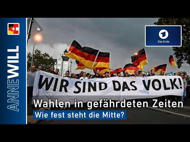 Anne Will - 23.02.2020 - Wahlen in gefährdeten Zeiten – wie fest steht die Mitte? (ARD)