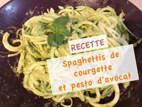[recette]-spaghettis-de-courgette-et-pesto-d'avocat
