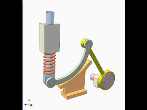 Fixed Cam Mechanism 5 Youtube