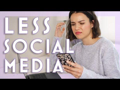 How I Disconnect from Social Media | Ingrid Nilsen