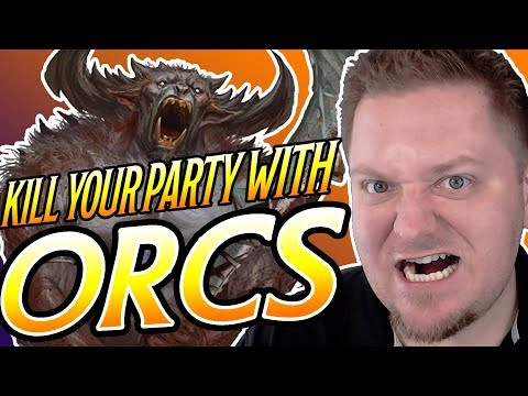 KYPW: Orcs - Dungeons and Dragons 5e