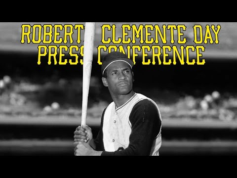 Roberto Clemente Day Press Conference - 9/6/16