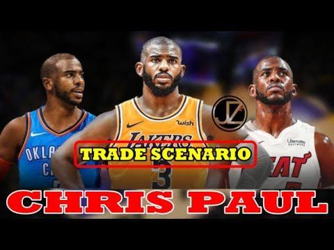 TRADE Scenario | Chris Paul | To MIAMI | To LAKERS | Posibleng MAGAYA kay CARMELO ANTHONY