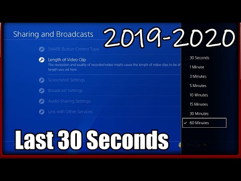 How to Record PS4 Gameplay With Voice Chat Using the Share Button to Record Past PS4 Gameplay