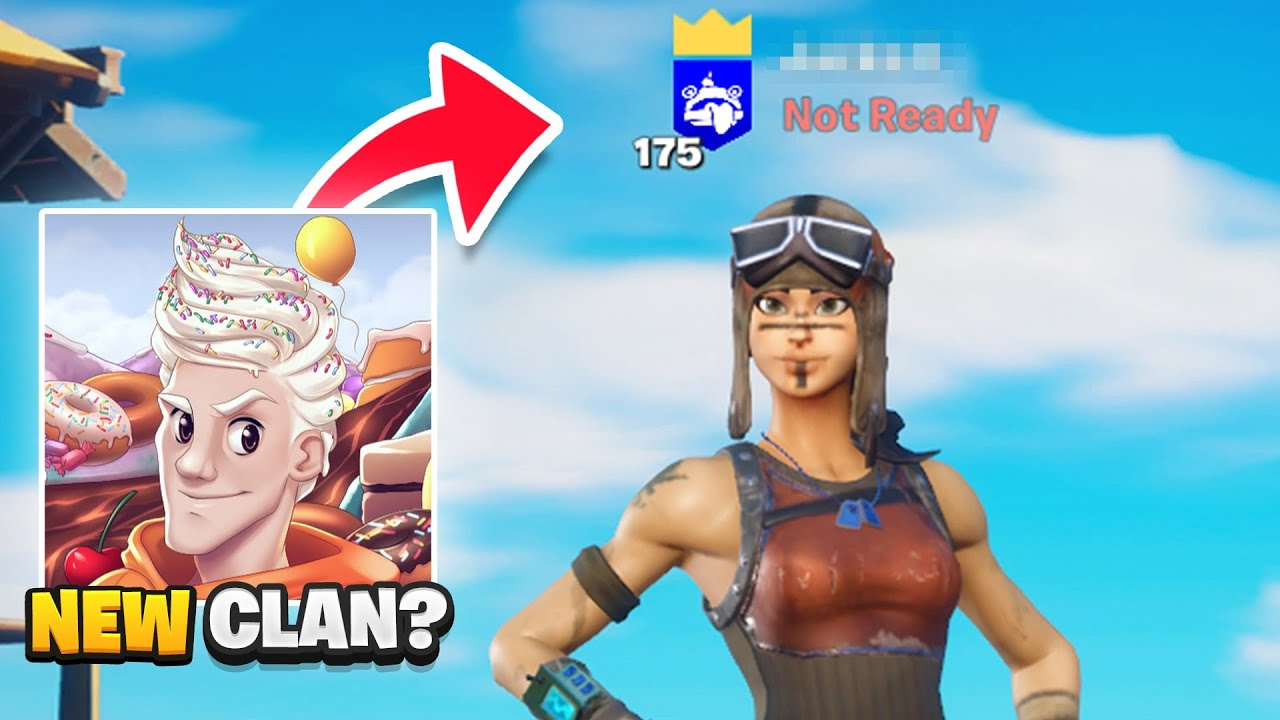 I joined McCreamy's new Fortnite CLAN... (xd)