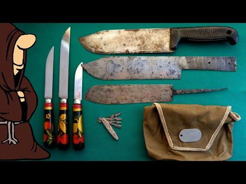 Посылка с ножами СССР, пополнение коллекции складных ножей РИ и СССР / USSR Knife Collection