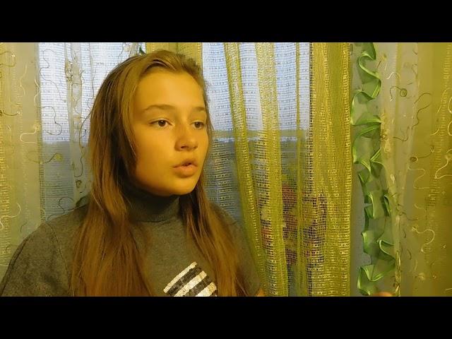 Изображение предпросмотра прочтения – ПолинаБогданова читает произведение «Сжала руки под темной вуалью» А.А.Ахматовой