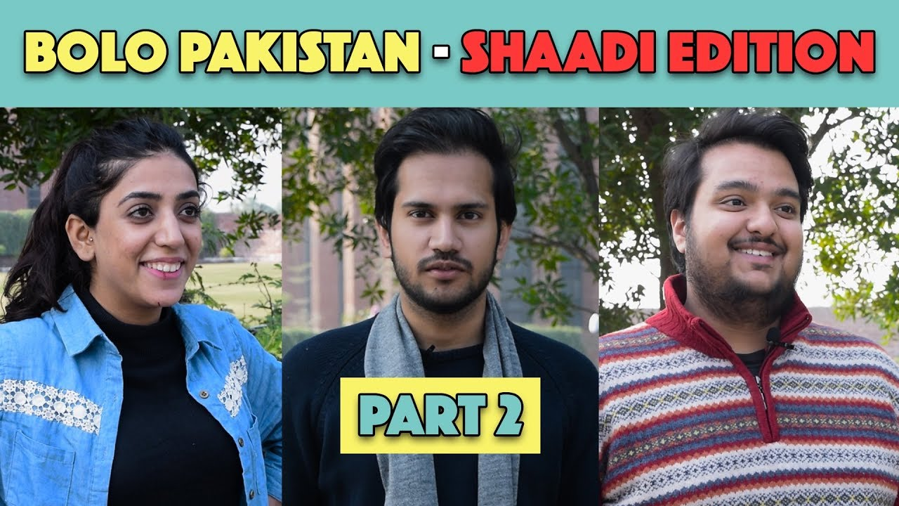 Bolo Pakistan | Shaadi Edition - Part 2 | MangoBaaz