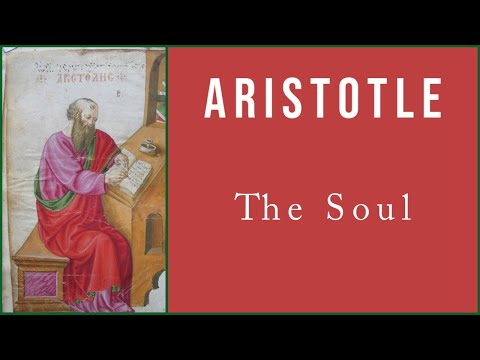 aristotle view on the soul is Aristotle's on soul ii 1 in aristotle selections,  his mature view, characteristic of metaphysics vii and on the soul is that the primary meaning of substance is .