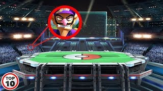 Top 10 Easter Eggs You Missed In Super Smash Bros. Ultimate
