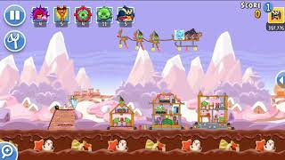 Angry Birds Friends 25th Dec 2017 Level 1 SANTACOAL & CANDYCLAUS TOURNAMENT NEW STRATEGY.