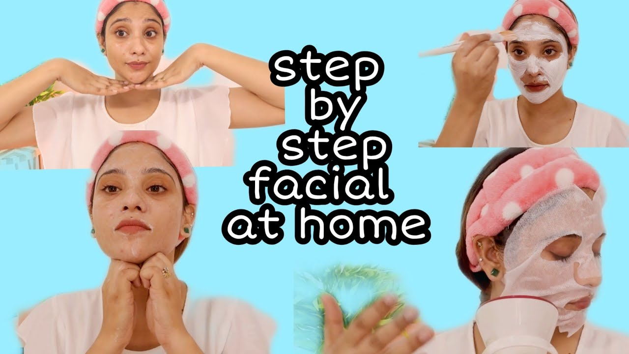 SALON LIKE FACIAL AT HOME  UNDER 300