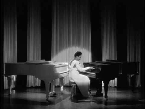 Black & White are Beautiful - Hazel Scott on 2 Grand Pianos