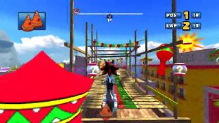 Sonic & SEGA All Stars Racing walkthrough - Jump Parade