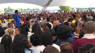 Kanye West Jesus Walks Sunday Service Dayton, OH