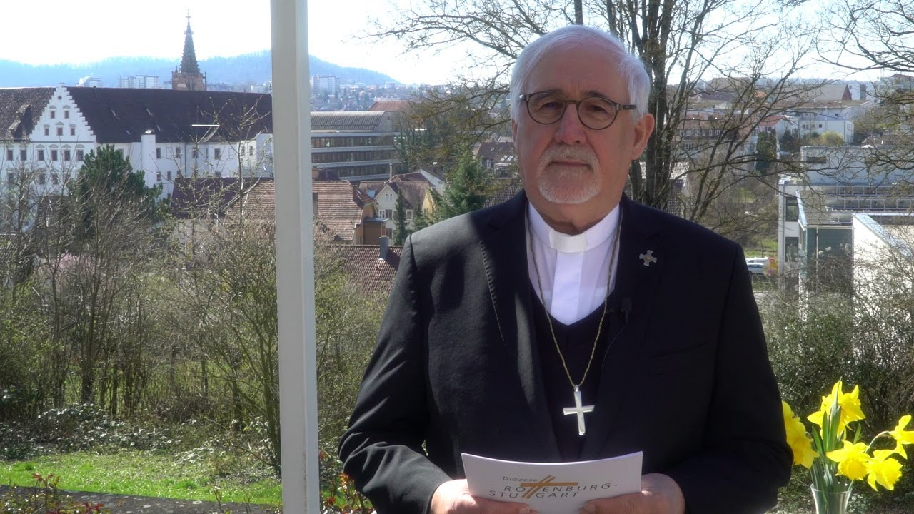 Videogruß an Mitarbeitende - Bischof Fürst bedankt sich von Herzen