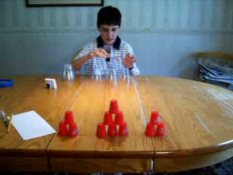Cup Stacking - Word Games