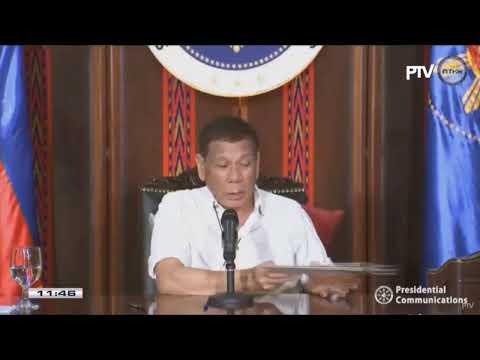 President Duterte addresses