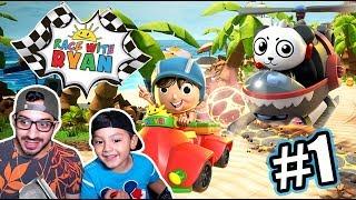 Carreras en el Parque con Combo Panda | Race with Ryan | Juegos Karim Juega