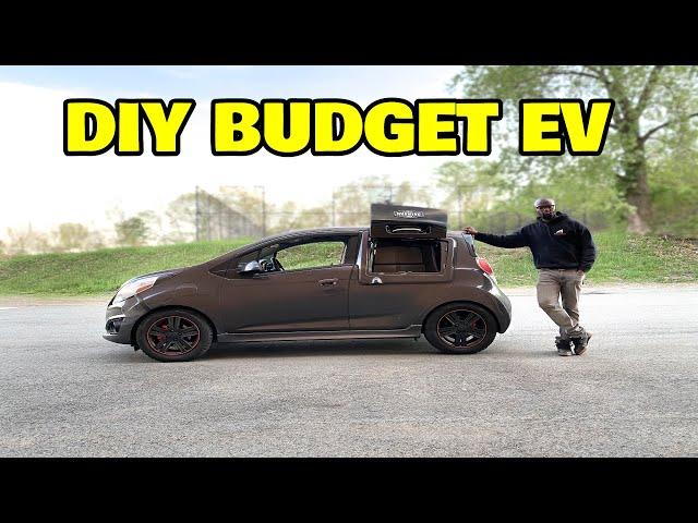 I built a $2,000 electric car