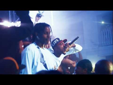 ASAP ROCKY PERFORMING AT HIS SRLO RELEASE PARTY IN HARLEM NEWYORK