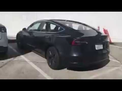 Up Close with Tesla Model 3 Production s/n 3