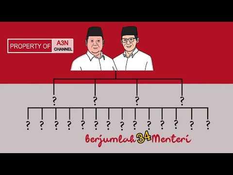 Bocoran Calon Kabinet Prabowo Sandi Kalo Menang Di Pilpres Nanti 😱