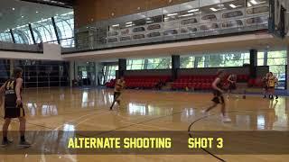 Shooting alternate shooting 3