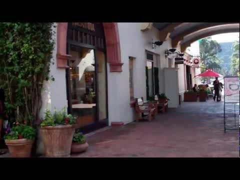 Paseo Nuevo in Santa Barbara California