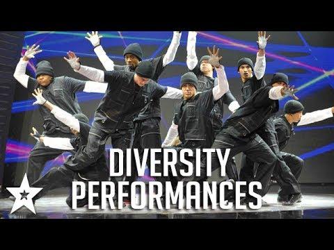 ALL FULL Diversity Performances on Britain's Got Talent! | Got Talent Global streaming vf