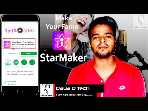 Make your Fame using StarMaker like a Bollywood Singers | How to download StarMaker Professionally