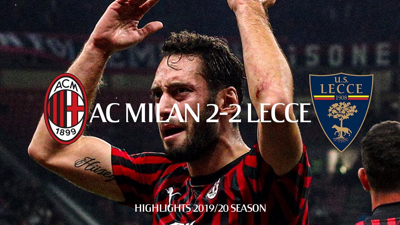 Highlights   AC Milan 2-2 Lecce   Matchday 8 Serie A TIM 2019/20