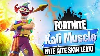 FORTNITE Battle Royale // NITE NITE CREEPY SKIN // 580+ WINS