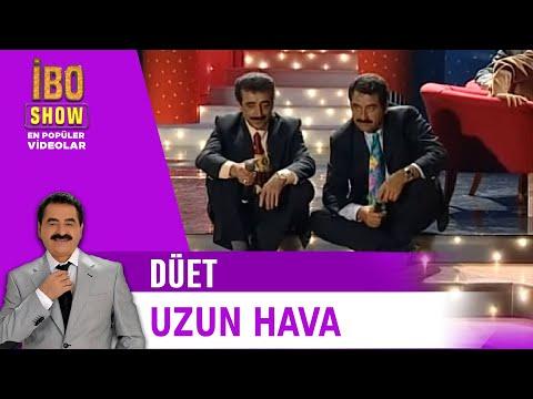 Uzun Hava - İbrahim Tatlıses & Hakkı Bulut - Canlı Performans - İbo Show (1998)